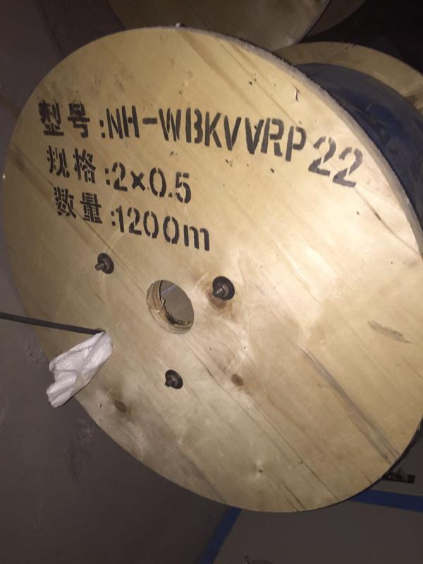 耐火控制铠装乐动体育注册      型号NH-WBKVVRP22         防火耐温,抗